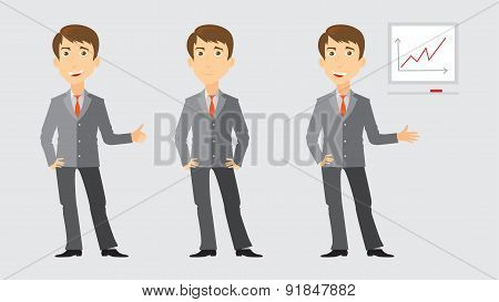 Three activities of businessman