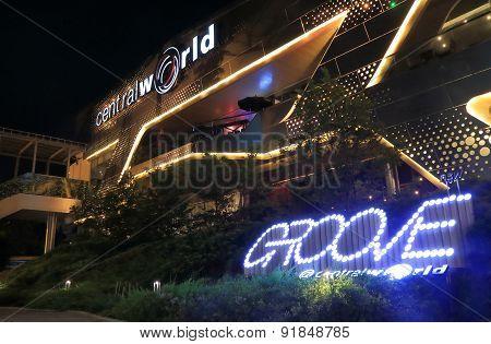 CentralWorld shopping mall Bangkok