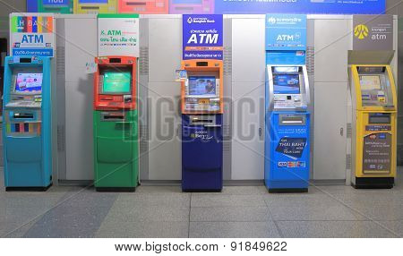ATM cash machine Thailand