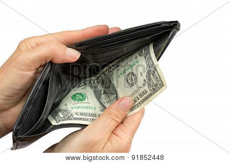Paying By Last Us One Dollar Bil