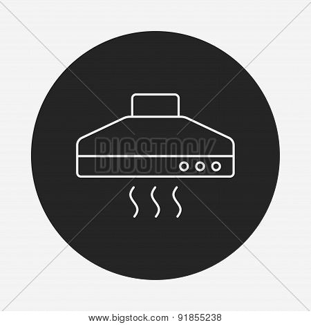 Cooker Hoods Line Icon