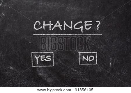 Blackboard - Change