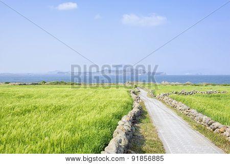 Landscape Of Sanbangsan And Songaksan