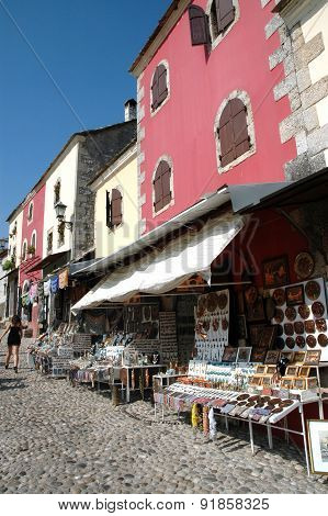 Bazaar In Mostar, Bosnia And Herzegovina