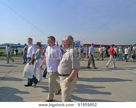 Leonid Yakubovich at MAKS airshow