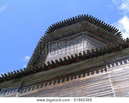 Carved Kizhi belfry