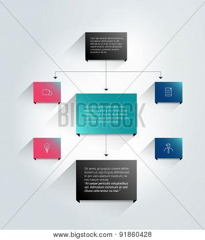 Infographics Flowchart.