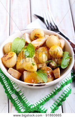 New Potatoes Salad