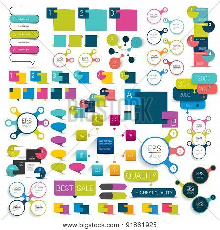 Collections Of Info Graphics.