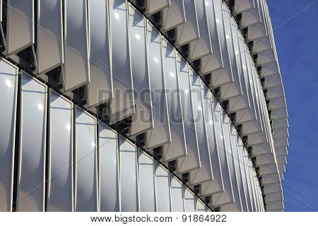 Bilbao, Spain - May 28, 2015: Detailed view of San Mames football stadium