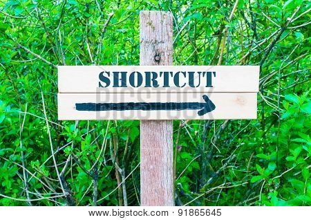 Shortcut Directional Sign