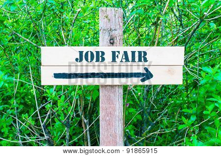 Job Fair Directional Sign
