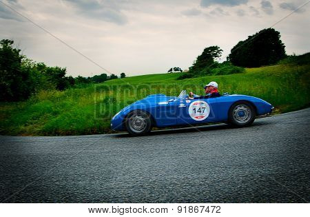 old car D.B. Citroen Spider 1945 mille miglia 2015