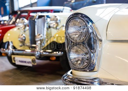 Exhibition Of Antique Cars