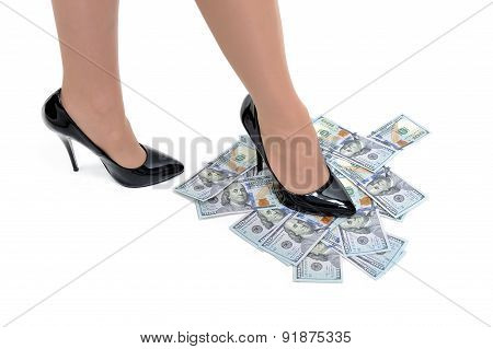 Woman Owns The Money