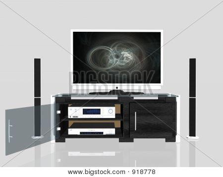 Media Center, Plasma Screen