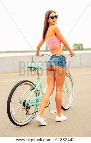 Just Me And My Bicycle.
