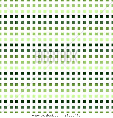Green pixel background. Seamless vector