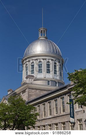 Marche Bonsecours Market Dome In Montreal