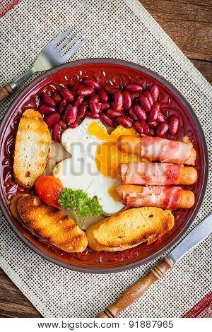 Full English Breakfast.