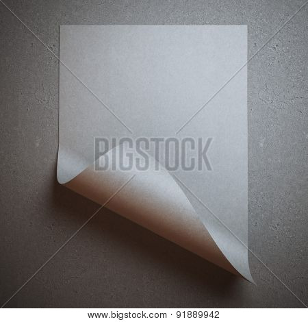 Gray rolled sheet