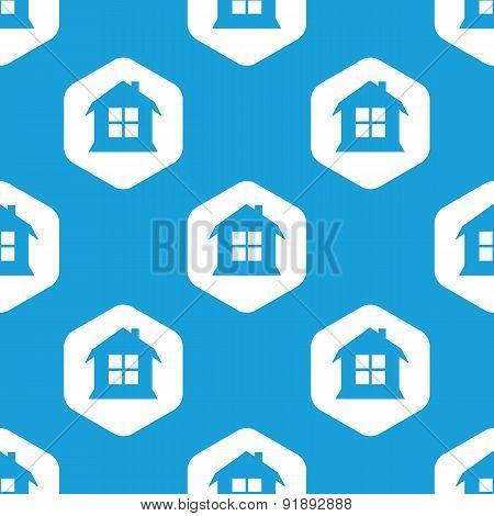 House hexagon pattern