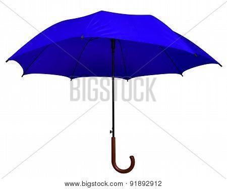 Umbrella - Blue Isolated