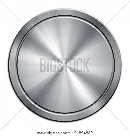 round metal plate