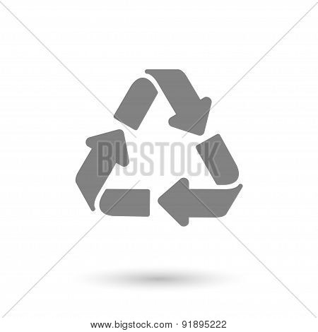 Recycle Icon Background