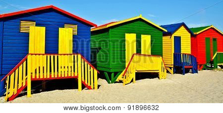 Colorful Huts