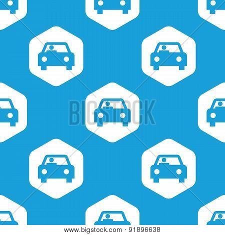 Car hexagon pattern