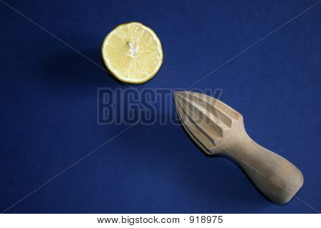 Wooden Lemon Reamer