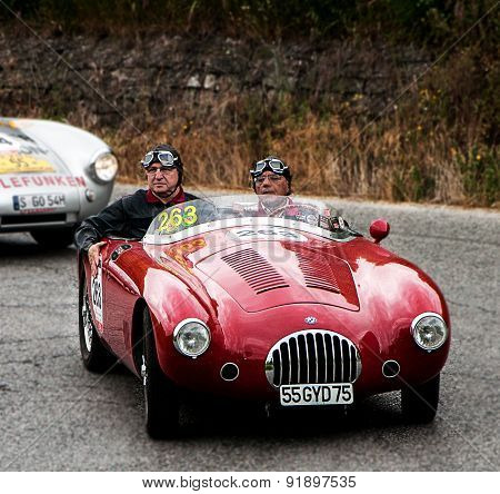old car O.S.C.A.  MT4 1500 2AD  1953  mille miglia 2015