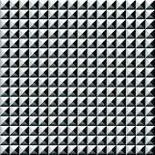 foto of stud  - Studded pointed pattern background - JPG