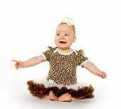 picture of scared baby  - Cute 1 - JPG