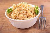 foto of quinoa  - bowl of quinoa - JPG