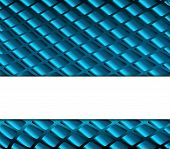 stock photo of grids  - Grid blue background - JPG