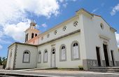 stock photo of petition  - France the church of Petit Canal in Guadeloupe - JPG