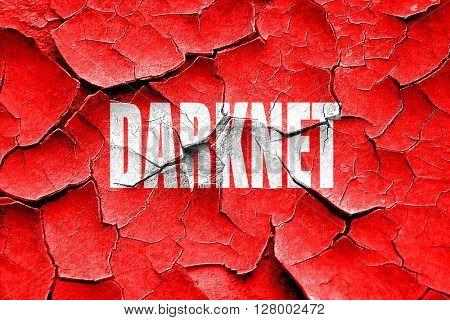 Grunge cracked Darknet internet background