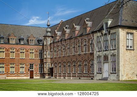 Bishop's House in Tongerlo Abbey is Premonstratensian monastery Belgium