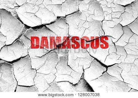 Grunge cracked damascus