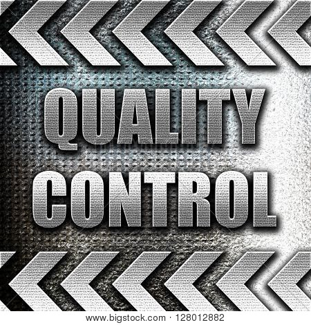 Quality control background