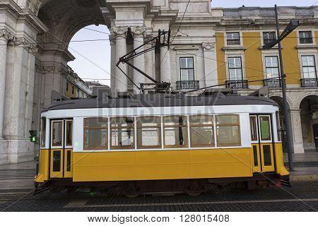 Remodelado on Commerce Square near Rua Augusta Arch in Lisbon in Portugal