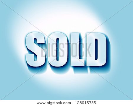 sold sign background