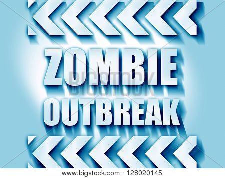 zombie virus concept background