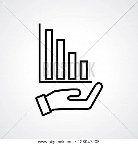 increase icon design, vector illustration eps10 graphic