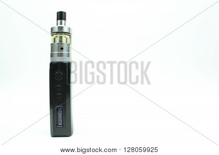 An Electronic Cigarette (tank) isolated on white background