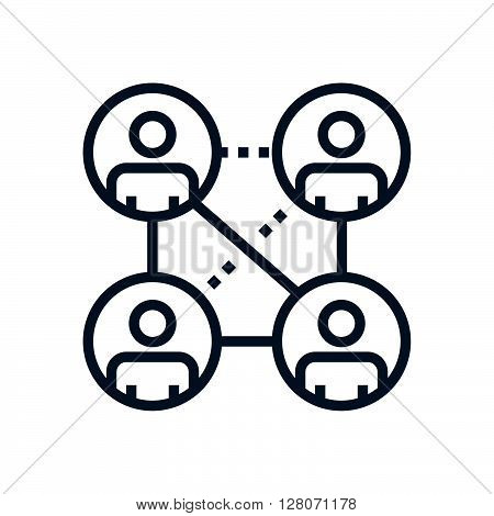 Relationship , Network Icon