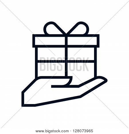 Courtesy, Gift Box Icon