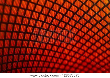 macro close up photo of car filter